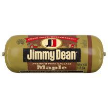 Jimmy Dean Sausage, Premium, Pork, Maple