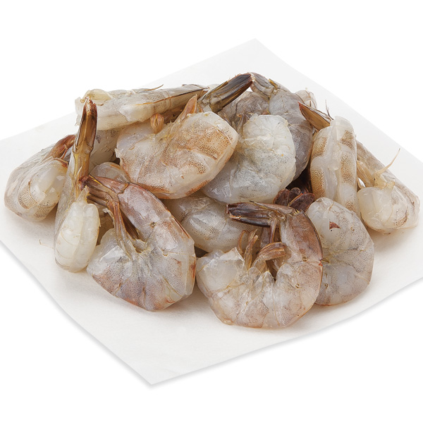 White Shrimp, Medium, E-Z Peel, 41-50 Shrimp/Lb Previously Frozen, Farmed