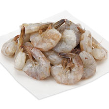 White Shrimp, Medium, E-Z Peel, 41-50 Shrimp/Lb Previously Frozen, Farmed