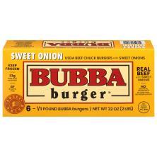 Bubba Burgers, Gluten Free, USDA Beef Chuck