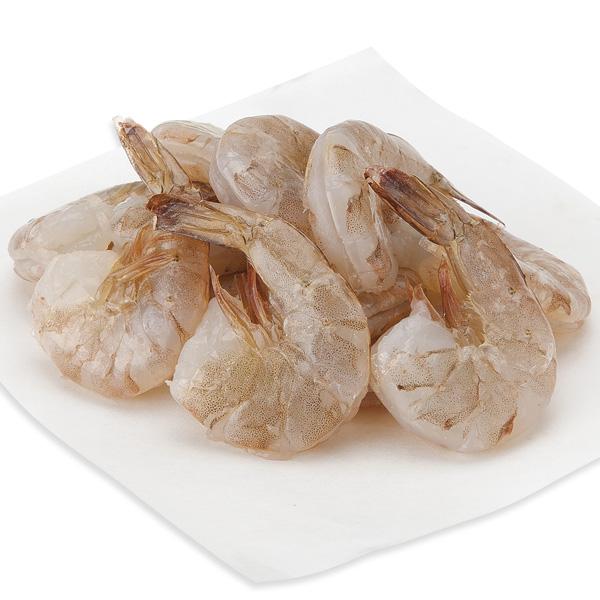 White Shrimp, Large, E-Z Peel, 31-35 Shrimp/Lb Previously Frozen, Farmed