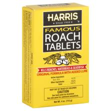 Harris Roach Tablets, Famous