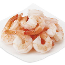 Cooked Shrimp, Medium, 41-50 Shrimp/Lb Previously Frozen, Farmed