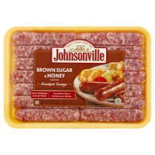 Johnsonville Sausage, Breakfast, Brown Sugar & Honey