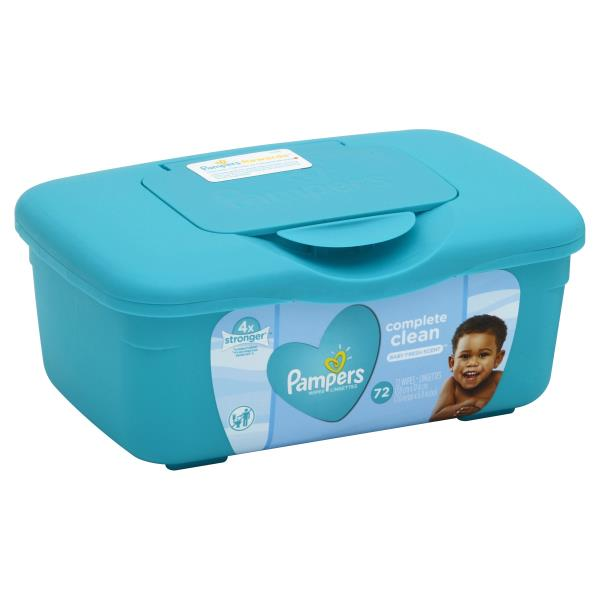 Pampers Complete Clean Wipes, Baby Fresh Scent