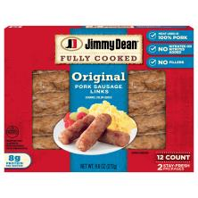 Jimmy Dean Sausage, Pork, Original, Links