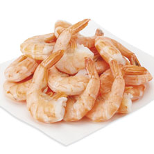 Cooked Shrimp, Peel & Eat, 41-50 Shrimp/Lb Previously Frozen, Farmed