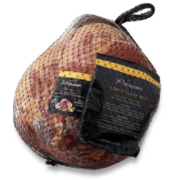 Publix Premium Spiral Sliced Ham Whole Honey Glaze Packetfully