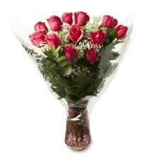 Vase Arrangement One Dozen Rose