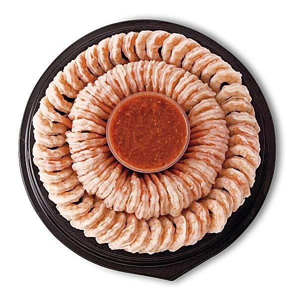 Publix Large Shrimp Platter, Includes Sauce, 36 Oz, Previously Frozen or Frozen