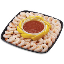 Captain's Choice Shrimp Platter, Small, 32 Oz Ready-To-Eat
