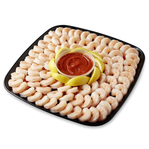 Captain's Choice Shrimp Platter, Medium, 56 Oz Ready-To-Eat