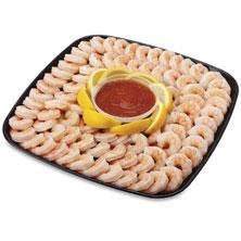Captain's Choice Shrimp Platter, Large, 88 Oz Ready-To-Eat