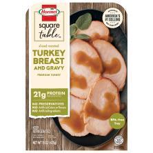 Hormel Turkey Breast & Gravy, Sliced Roasted