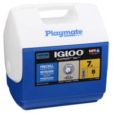 Igloo Playmate Pal Cooler, Blue, 7 Quart