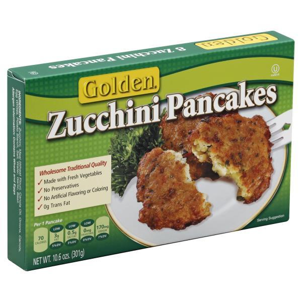 Golden Pancakes, Zucchini