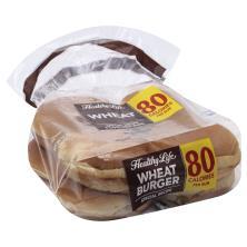 Healthy Life Sandwich Buns, Light, Wheat