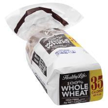 Healthy Life Bread, 100% Whole Wheat Whole Grain