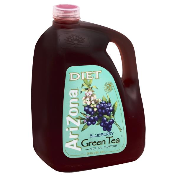 Arizona Green Tea, Blueberry, Diet