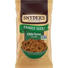 Snyders Pretzels, Olde Tyme, Family Size!