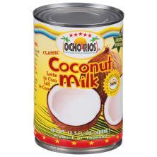 Ocho Rios Coconut Milk No Cholesterol No Sugar Added