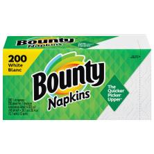 Bounty Napkins, Quilted, Prints, 1-Ply