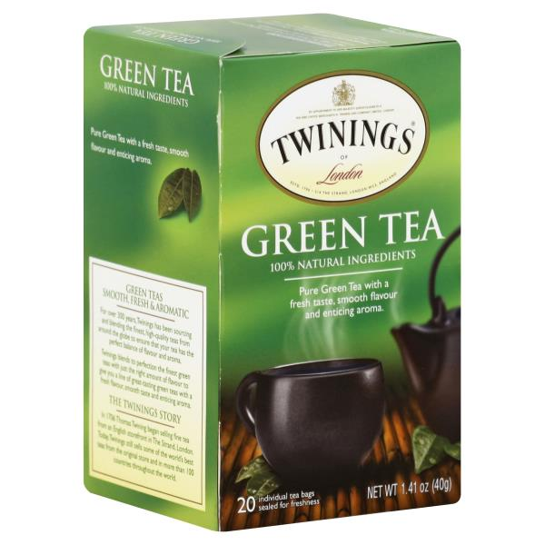 Twinings Green Tea, Bags
