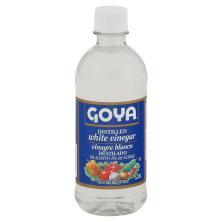Goya Vinegar, White, Distilled