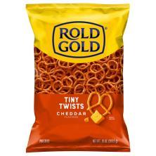 Rold Gold Pretzels, Tiny Twists, Cheddar