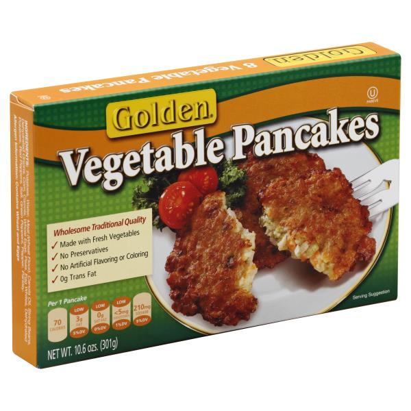 Golden Pancakes, Vegetable
