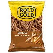 Rold Gold Pretzels, Honey Wheat, Braided