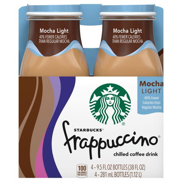 Starbucks Frappuccino Coffee Drink, Chilled, Mocha Light