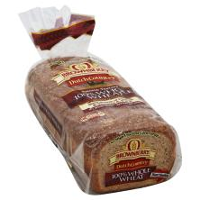 Brownberry Dutch Country Bread, 100% Whole Wheat