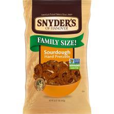 Snyders Pretzels, Hard, Sourdough, Family Size!