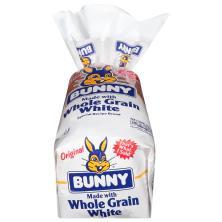 Bunny Ultra-Soft Bread, Whole Grain White