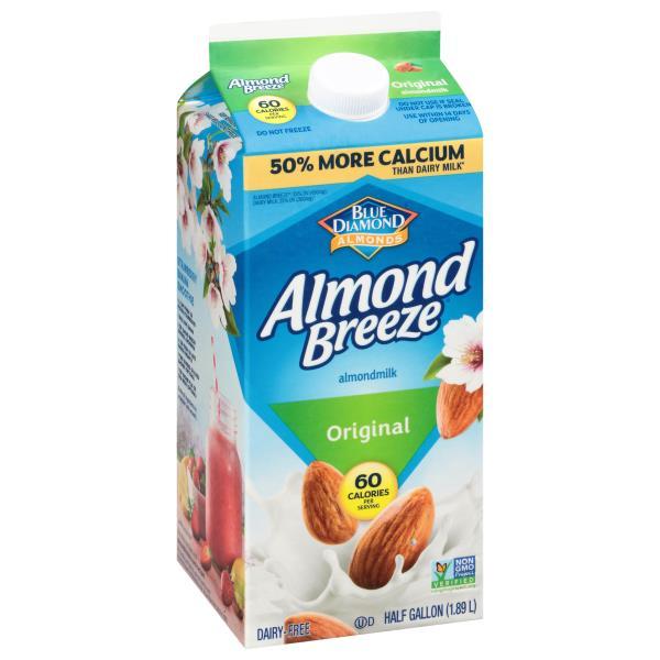 Blue Diamond Almond Breeze Almondmilk, Original