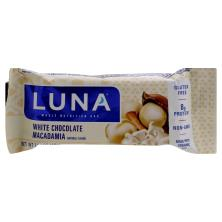 Luna Nutrition Bar, Whole, White Chocolate Macadamia