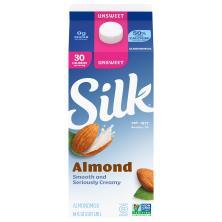 Silk Almondmilk, Original, Unsweetened