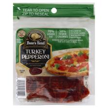Boars Head Pepperoni, Turkey