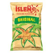 El Isleno Plantain Chips, Original