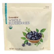 Greenwise Blueberries, Organic, Whole