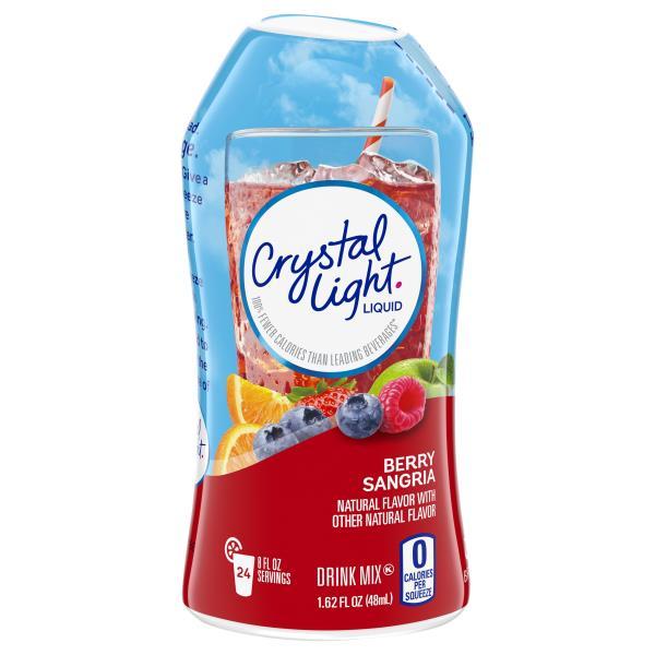 Crystal Light Drink Mix, Liquid, Berry Sangria : Publix com