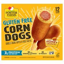 Foster Farms Corn Dogs, Gluten Free, Honey Crunchy Flavor