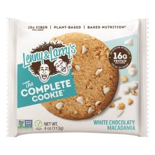 Lenny & Larrys Cookie, The Complete, White Chocolate Macadamia
