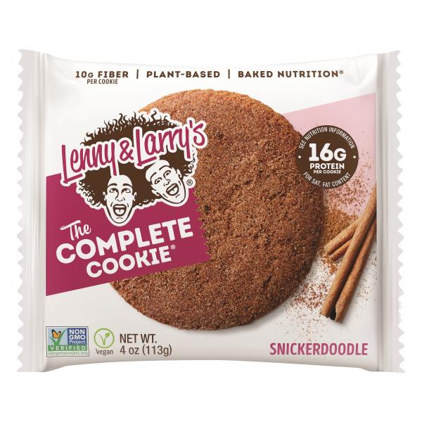Lenny & Larrys Cookie, the Complete, Snickerdoodle