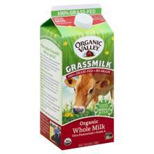 Organic Valley Grassmilk Milk, Whole, Organic