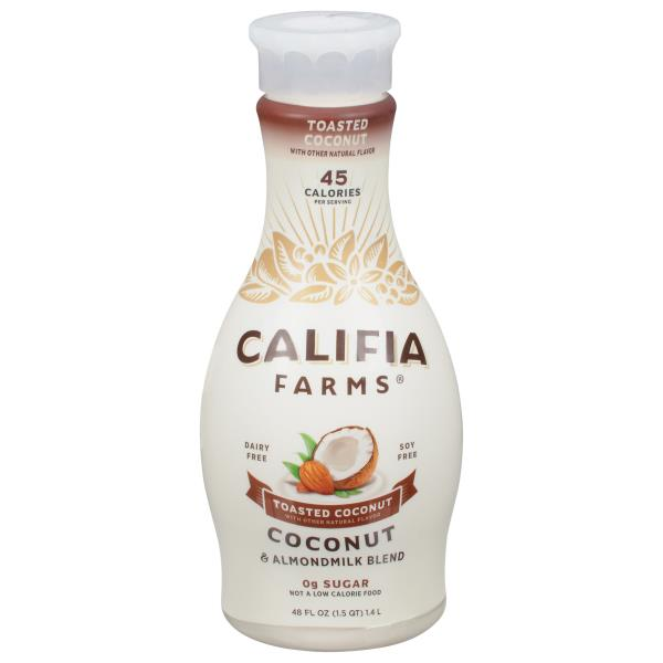 Califia Farms Coconut Almondmilk Blend, Toasted Coconut
