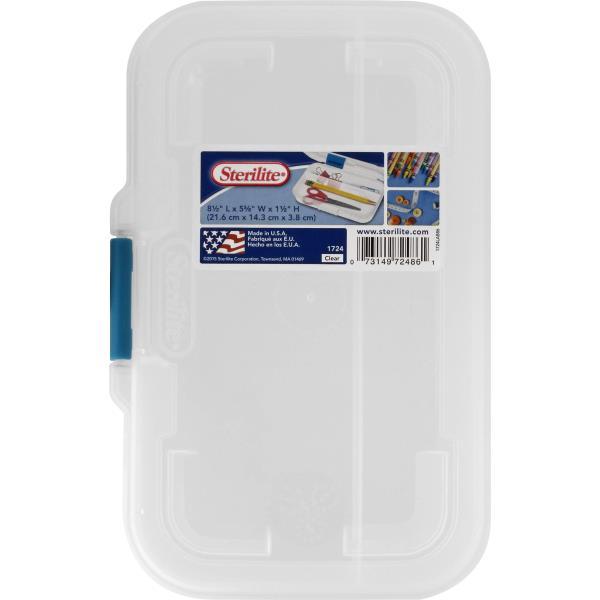 Sterilite Storage Box, Clear