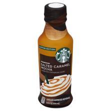Starbucks Espresso Beverage, Chilled, Salted Caramel Mocha