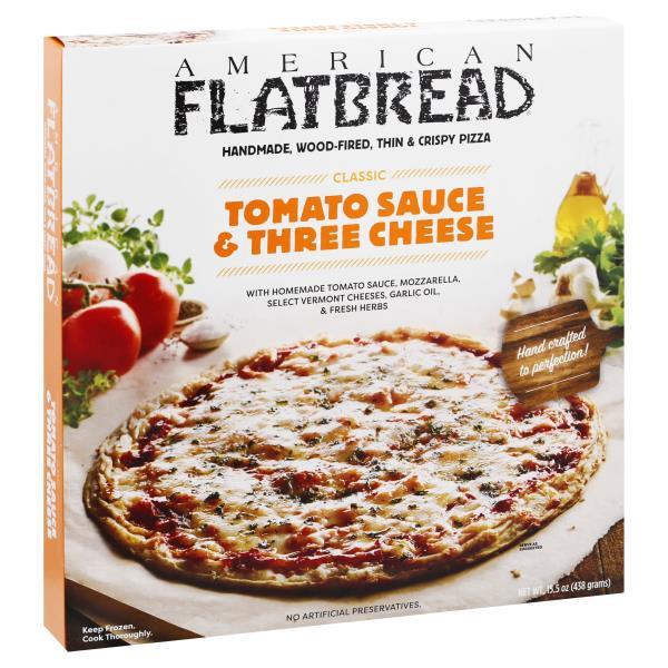American Flatbread Pizza, Tomato Sauce & Three Cheese